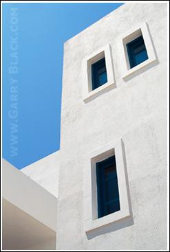 Windows, Santorini Greece