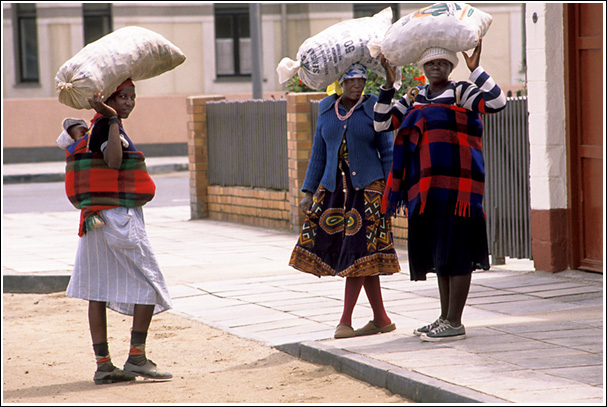 Women in Swakopmund - Namibia