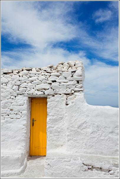 Doorway - Mykonos, Greece