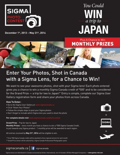 Sigma Photo Contest