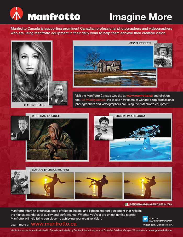 Manfrotto Pro Promo Sheet_Eng