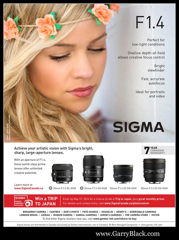 Sigma F1 4 Lens Ad_Photo Life_FebMar2014